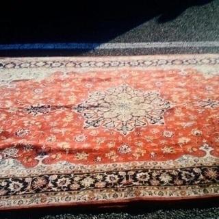 ペルシャ絨毯 ウール製  美品