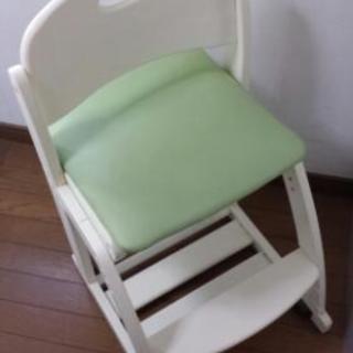 【汚れそのままなので格安500円】学習机用の椅子/子供用イス/勉強チェア
