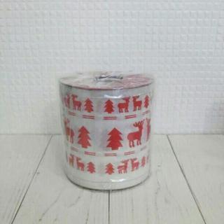 新品 クリスマス デコレーションロールペーパー トナカイ