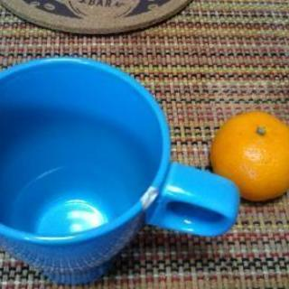 IKEA水色マグカップ