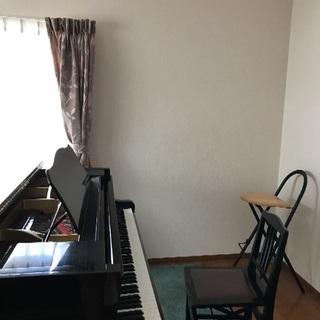 グランドピアノで個人レッスン!