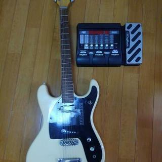 エレキギター、エフェクターセット ノークレームでお譲りします