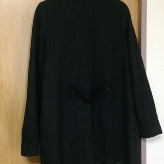 フリーサイズ コート(黒) - 名古屋市