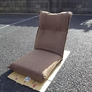 新品 ニトリらくらく・リクライニングポケットコイル座椅子 ルル~♪♪