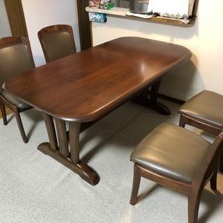 大塚家具 購入 ダイニングテーブルチェアセット 食卓テーブル