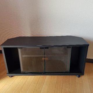 ブラック テレビボード