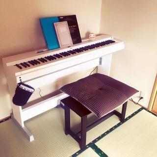 12月20日まで!YAMAHA電子ピアノ ヤマハP-255ホワイ...