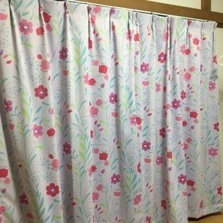 綺麗でしっかりとしたカーテン☆×2セット