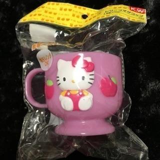 新品 キティちゃんのコップ