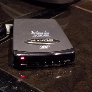 【マニア必見】レーダー探知機 ユピテル SuperCat RX-106
