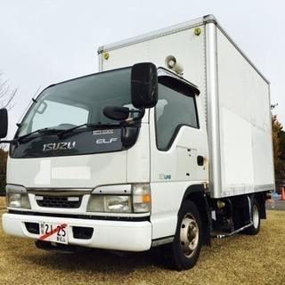 車検1年付 いすゞ エルフ LPG箱バン トラック 引越し リサ...