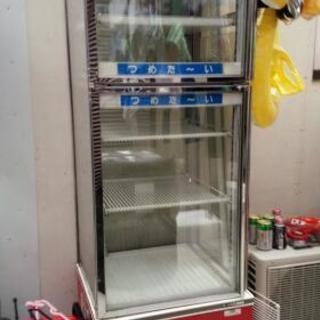 《取引中》☆サンデン・温蔵冷蔵ショウケース(美品) 取りに来られる方