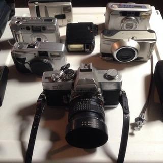 レトロカメラ 6種 ジャンク