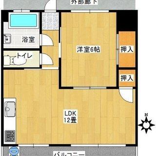 最初に用意するお金は44500円で入居可能。