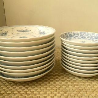 銘々皿(中皿・小皿)各10枚セット
