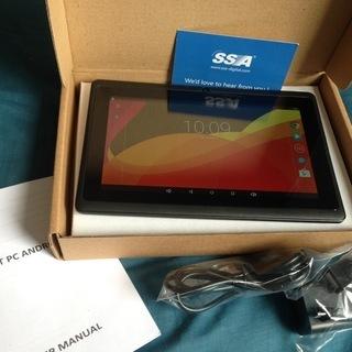 【SSA】ほぼ新品7インチタブレット PC Android 1G/...