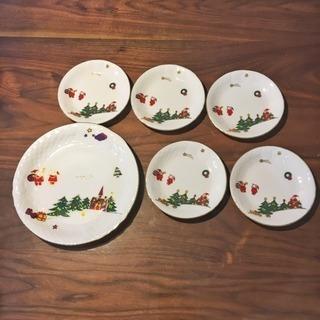 【未使用】UTSUWAKAN クリスマス食器セット(訳あり)