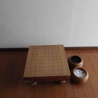 囲碁盤(碁石つき)