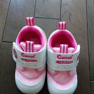 (未使用品)carrot ベビー靴 12.5cm