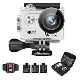アクションカメラ/防水/4k/アクセサリーつき
