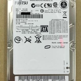 中古内蔵ハードディスク (型番:MHV2080BH,商品ID:138)