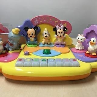 ディズニーキャラクターズタッチでピアノできた