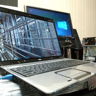 ノートパソコン HP Pavilion DV9700 Window...