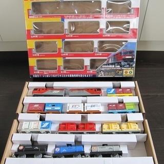 ◆取引完了◆プラレール いっぱいつなごう金太郎&貨車セット 中古...