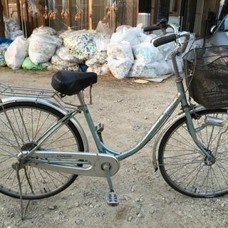 ママチャリ自転車26インチ、ジャンク
