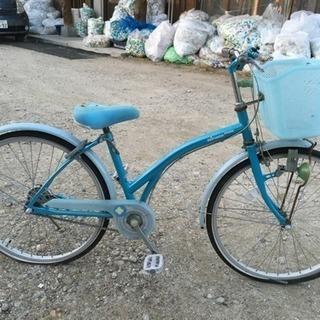 ジュニア自転車24インチ、ジャンク