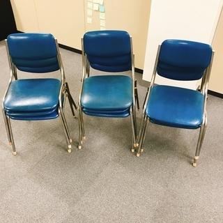 パイプ椅子 9脚