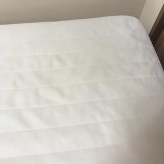 無印良品 シングルベッド マットレス 脚付き10cmと20cm両方ある - 家具