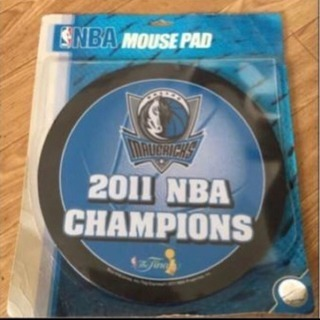 NBA2011チャンピオン マーベリックスマウスパッド