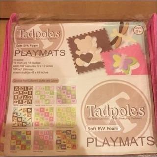プレイマット ベビー 赤ちゃんスペース Tadpoles Sof...