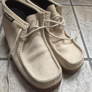 25センチ スエード風の靴