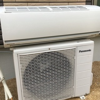 エアコン、室外機セットです。