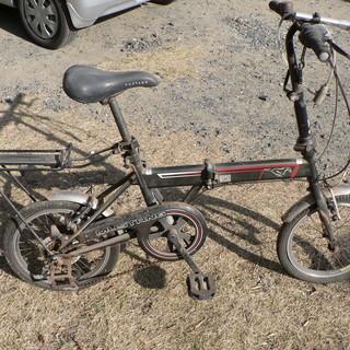 折り畳み自転車16インチ6段変速(ジャンク)