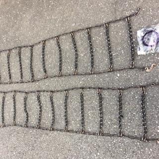 14インチタイヤ用タイヤチェーン(金属製)