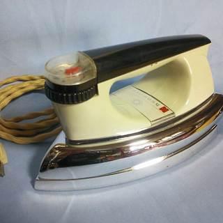 クラシックなアイロン 中古品 NI-52A 500W  松下電器産業