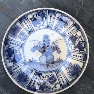 陶器、古い皿