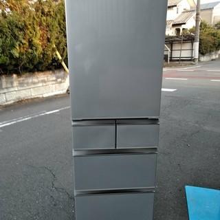 AQR-SD42D(S) [冷蔵庫 415L 5ドア ブライトシルバー