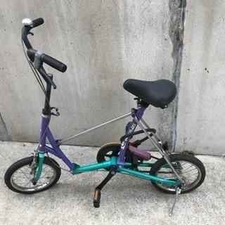 ブリジストン 折りたたみ自転車 ベルトタイプ