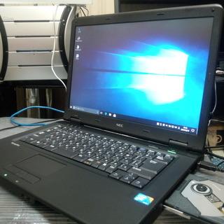ノートパソコン NEC VarsaPro VJ25A/F-8 Wi...
