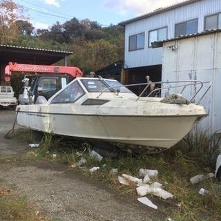 生簀付き船・21フィート