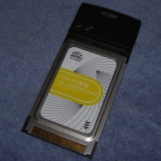 【終了】Corega 無線LAN子機 (300Mbps・PCカー...