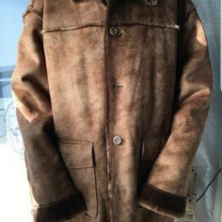 【ありがとうございました】3L  バックスキンのジャケットコート