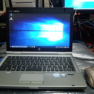 ノートパソコン HP Elitebook 2560p i5-245...