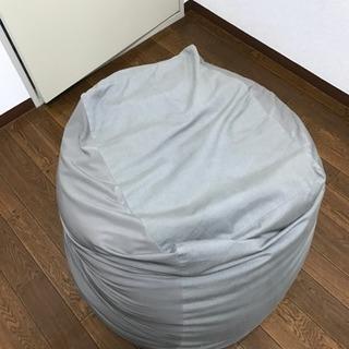 無印良品 体にフィットするソファ ビーズクッションの画像