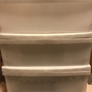 ニトリ 3段プラスチック収納ケース