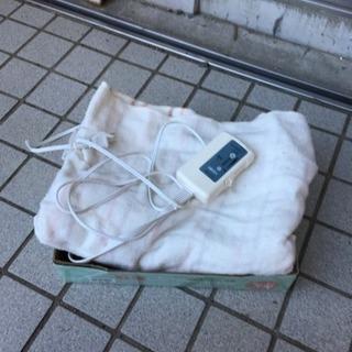 電気敷き毛布